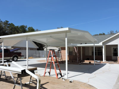 Carport in Escambia County
