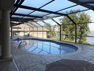 Pool enclosure in Santa Rosa