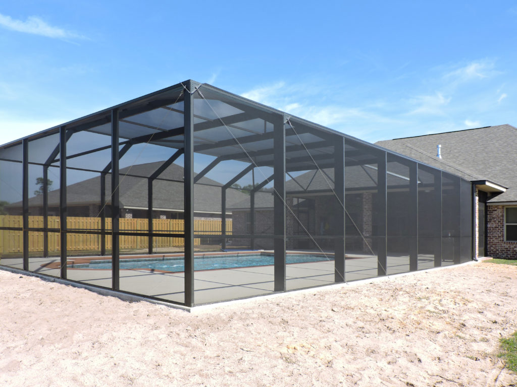 Pool enclosure in Baldwin County