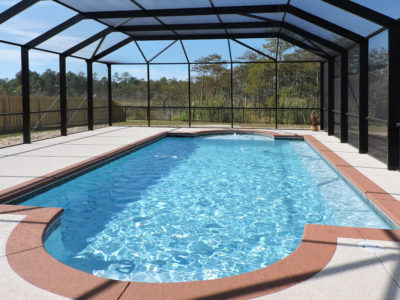 Pool enclosure in Orange Beach