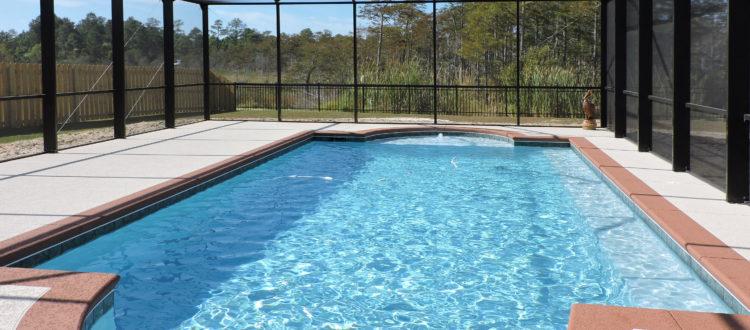 Pool enclosure in Orange Beach
