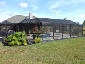 Pool enclosure in Okaloosa