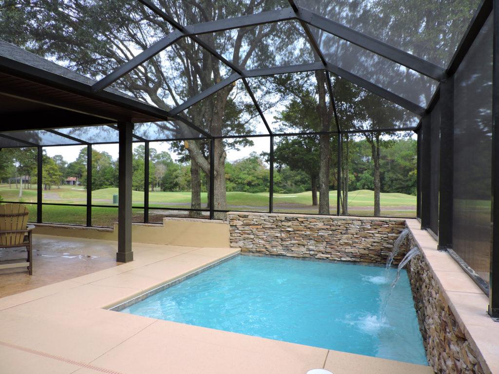 Pool enclosure in Gulf Shores
