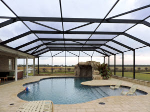 Pool enclosure in Foley