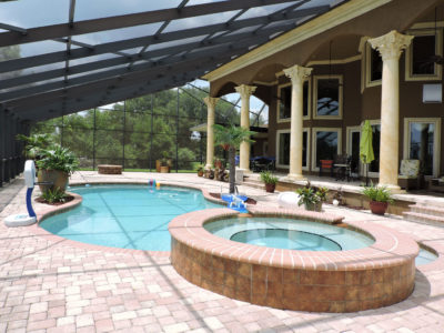 Pool enclosure in Fairhope.
