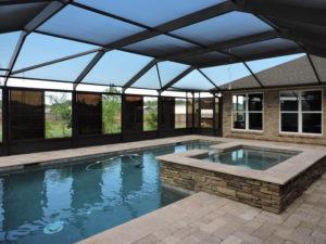 Pool enclosure in Pensacola
