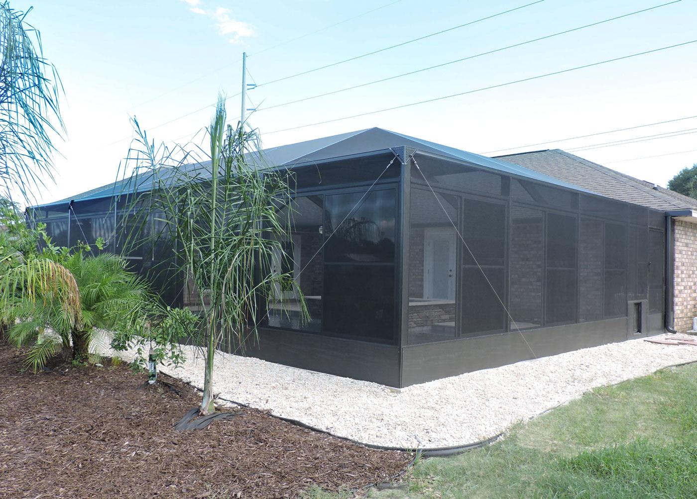 Swimming pool enclosure in Pensacola