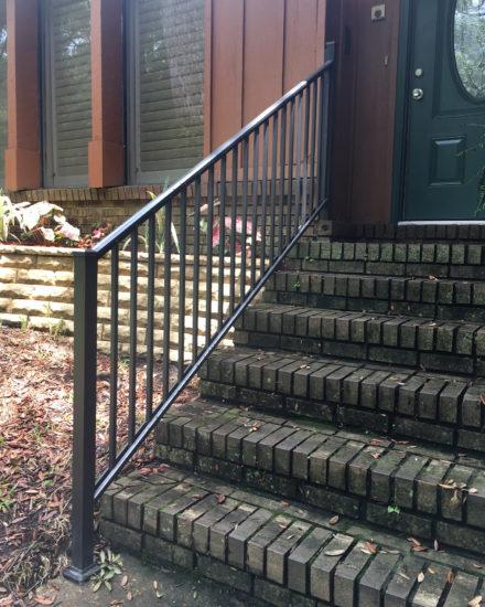 Aluminum railing in Pensacola
