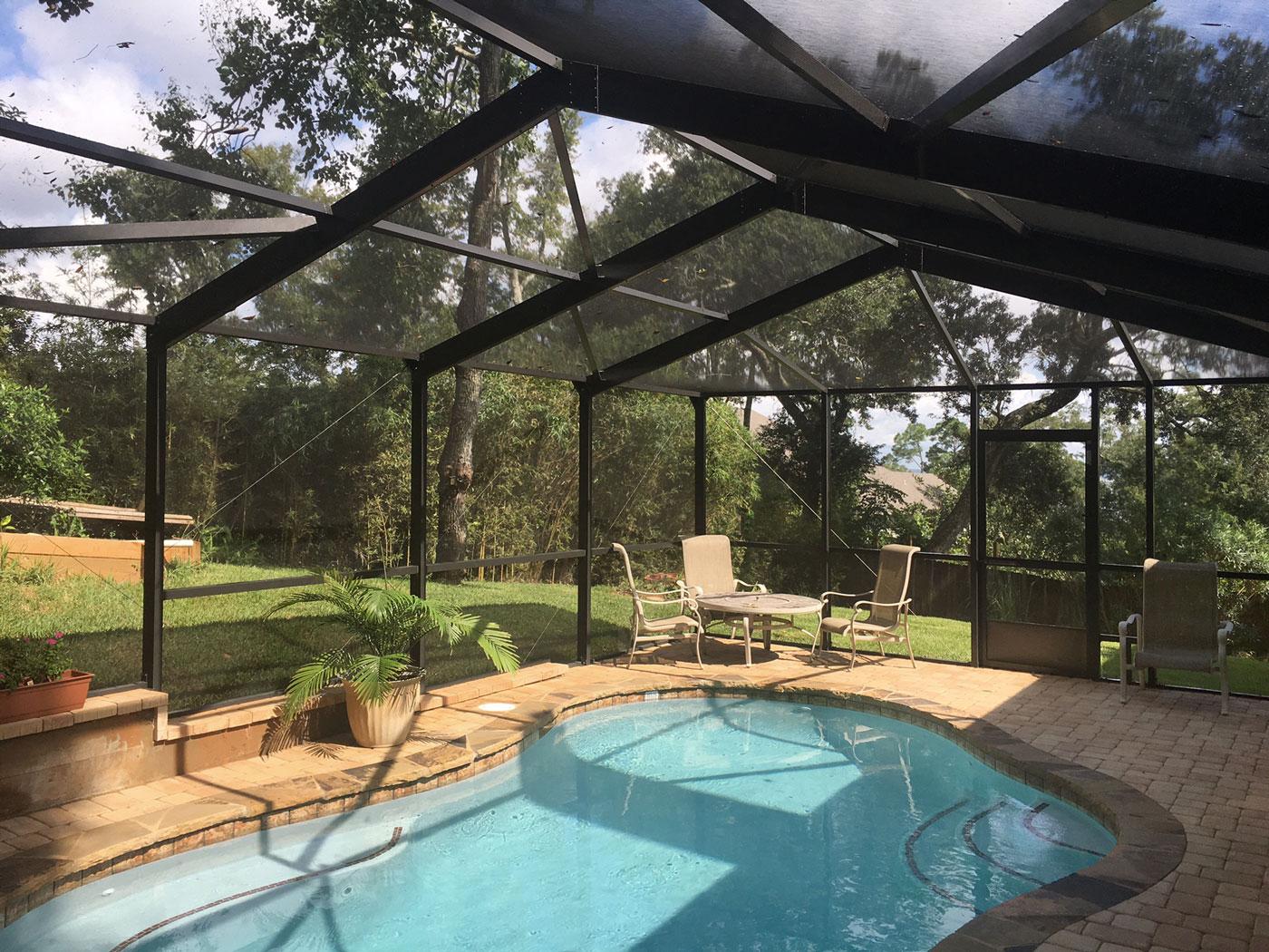 Pool enclosure in Destin
